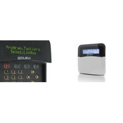 DUEVI - DVTR OLED - TASTIERA VIA RADIO BIDIREZIONALE CON DISPLAY OLED, BIANCA